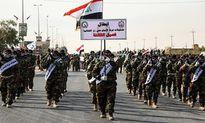 Dân quân Iraq diễu binh phô trương sức mạnh
