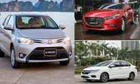 Ôtô bán chạy nhất Việt Nam, phân khúc sedan dẫn đầu