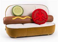 Mê mẫn với mẫu bàn ghế thiết kế bánh Hambuger độc đáo