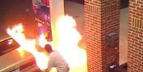 Khánh Hòa: Xe ôm đốt 2 cây xăng cho... bõ tức