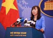 Việt Nam lên tiếng việc Australia điều tàu chiến tới tập trận tại Biển Đông