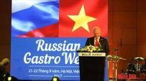 Khai mạc 'Tuần lễ thực phẩm Nga' tại Hà Nội