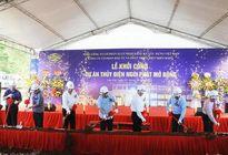 Lào Cai: Khởi công xây dựng Dự án thủy điện Ngòi Phát mở rộng