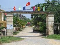 Đang về đích nông thôn mới, cổng UBND xã sắp … sập