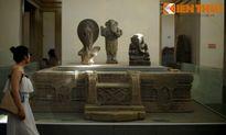 Cận cảnh kiệt tác đài thờ Chăm Pa đẹp nhất thánh địa Mỹ Sơn