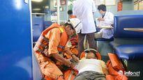 Đà Nẵng: Cứu 3 ngư dân bị ngạt khí gas hầm lạnh