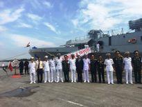 Tàu Hải quân Ấn Độ cập cảng Hải Phòng