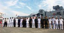 Hai tàu Hải quân Ấn Độ thăm TP Hải Phòng