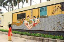 Ngắm nhìn bức tranh 3D dài nhất Việt Nam