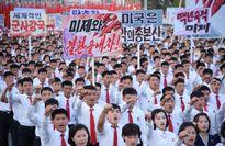 Hàng nghìn người Triều Tiên biểu tình chống Mỹ và TT Trump