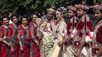 Dụ 250 học sinh bỏ học bê váy cưới, cô dâu bị điều tra