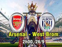 Arsenal – West Brom: Không được phép sa chân