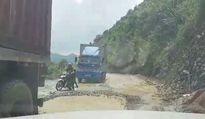 Lạng Sơn: Dự án chậm tiến độ, Quốc lộ 4A thành điểm nóng về ATGT!