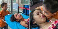 Bố mẹ bỏ đi, em 7 tuổi chăm sóc chị gái trên giường bệnh và câu chuyện đau xé lòng phía sau
