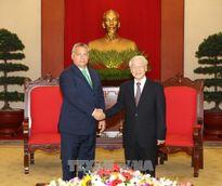 Tổng Bí thư Nguyễn Phú Trọng tiếp Thủ tướng Hungary