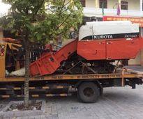 Thuê xe cứu hộ chở máy gặt trộm cắp từ Thanh Hóa về Hải Dương