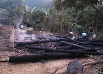 Điện Biên: Chồng châm lửa đốt nhà vì mâu thuẫn với vợ