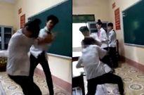 Nam sinh đánh đập, dẫm đạp tàn nhẫn bạn nữ ngay tại lớp học gây phẫn nộ