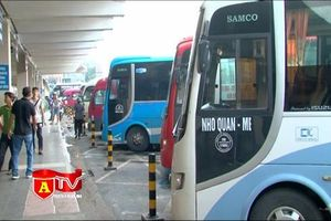 Hà Nội: Chuyển 50 'nốt' xe từ bến xe Mỹ Đình sang bến xe Giáp Bát