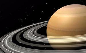 Nghi vấn phi thuyền người ngoài hành tinh từng đến Sao Thổ