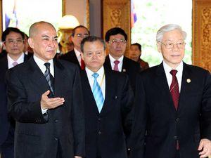 Tổng Bí thư thăm cấp nhà nước Campuchia