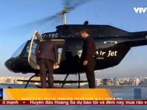 Độc đáo dịch vụ taxi trực thăng tại Brazil