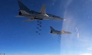 Chiến đấu cơ Nga phá nát loạt căn cứ IS ở Hama