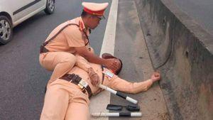 Chuyển sang tội 'Giết người' vụ tài xế container hất văng cảnh sát giao thông