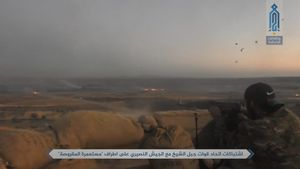 Quân đội Syria đánh bại tập kích thánh chiến phía tây nam Damascus