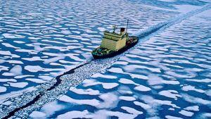 Tuyến đường băng giá xuyên Bắc Cực nối liền các đại dương