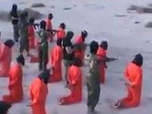 18 khủng bố IS bị bịt mắt, bắn chết ở Lybia?