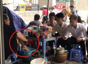 Người tung clip 'dùng nước rửa chân pha trà đá cho khách' bị xử phạt thế nào?