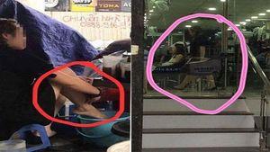 Người tung clip 'lấy nước rửa chân pha trà đá' bị phạt 7,5 triệu đồng
