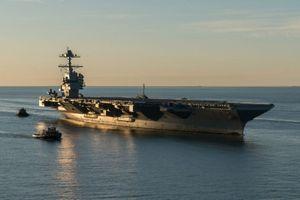 Tận thấy tàu sân bay 13 tỷ USD vừa gia nhập Hải quân Mỹ
