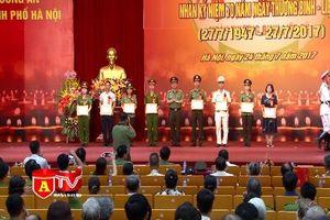 CATP Hà Nội gặp mặt, biểu dương người có công nhân kỷ niệm 70 năm Ngày TBLS