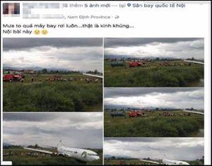 Người phụ nữ tung tin đồn máy bay rơi khai gì tại cơ quan chức năng