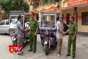 Vờ thuê chở hàng để trộm xe mô tô ba bánh của thương binh