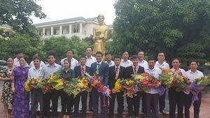 Hân hoan đón chào các học sinh xứ Nghệ đạt giải Olympic quốc tế và khu vực trở về