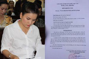 Nhà hát Kịch TP.HCM kháng cáo vụ tranh chấp với Ngọc Trinh