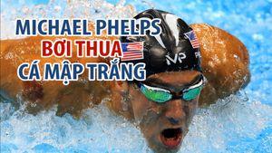 Michael Phelps bơi đua cùng cá mập: Ai thắng?