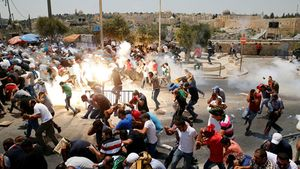 Căng thẳng leo thang tại Jerusalem