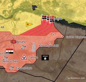 'Hổ Syria' đè bẹp IS, chiếm liên tiếp 3 cứ địa hướng Deir Ezzor (video)