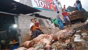 Kinh hãi với cách 'phù phép' biến thịt lợn thối thành đặc sản hun khói ở Cao Bằng