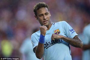Neymar ghi bàn giúp Barca hạ gục M.U