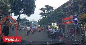 Clip: Xuất hiện nhiều 'ma cô' đường phố chuyên ăn vạ xe ôtô để đòi tiền bồi thường ở Hà Nội
