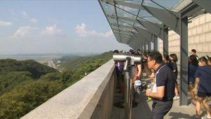 Không ngại Triều Tiên, người Hàn vui vẻ tham quan thành phố biên giới