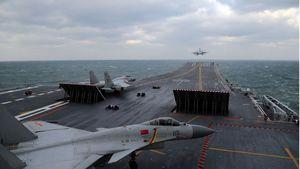 Trung Quốc tập trận quy mô lớn ngoài khơi bán đảo Triều Tiên