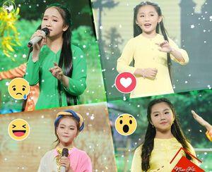 Bốn cô bé tài năng của Thần tượng tương lai tái ngộ ở Nhạc hội quê hương