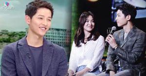 Ngọt ngào như hình ảnh Song Joong Ki tặng bài hát cho Song Hye Kyo trên truyền hình