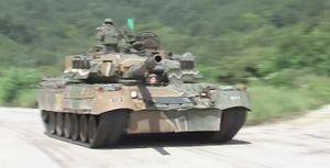 Xe tăng Т-80U Nga gầm thét, nhả đạn tại Hàn Quốc (video)